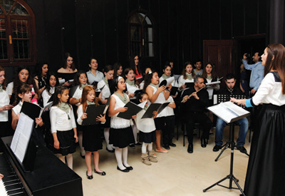 Ξεχωριστή συναυλία σχημάτων του ωδείου Κόψα